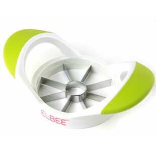 Stainless Steel Blade Apple Corer and Grip Slicer