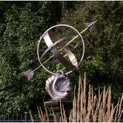 Litzy Mermaid Armillary Sundial Rosecliff Heights