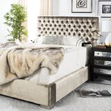 Chester Upholstered Standard Bed by Safavieh Couture