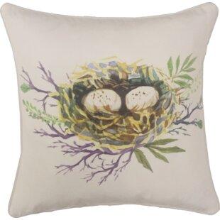 Hillenbrand Spring Nest Indoor/Outdoor Throw Pillow