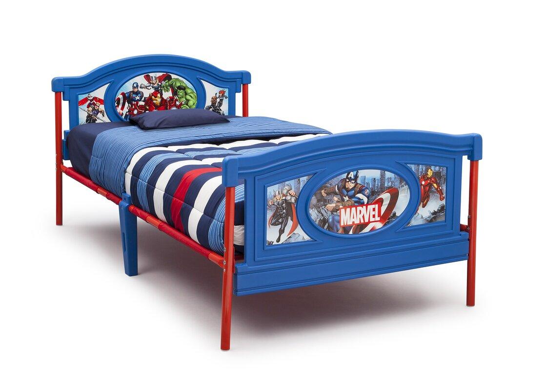 Delta Children Avengers Twin Panel Bed & Reviews | Wayfair