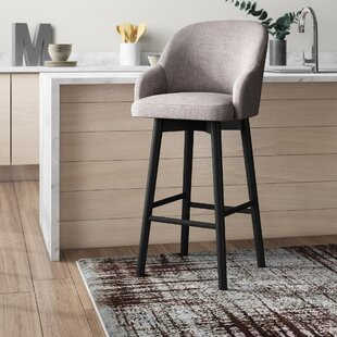Savard 45.7 Swivel Bar Stool by Brayden Studio Wonderful