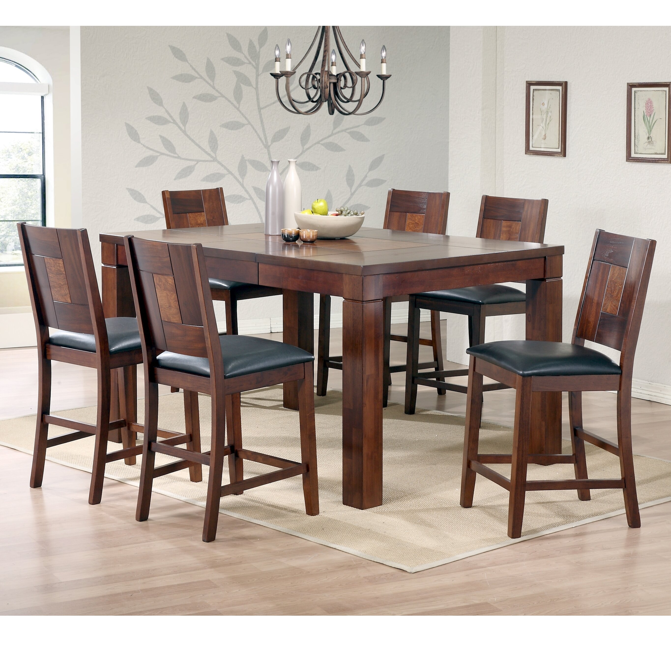 7 Piece Bar Counter Height Dining Sets You Ll Love In 2021 Wayfair