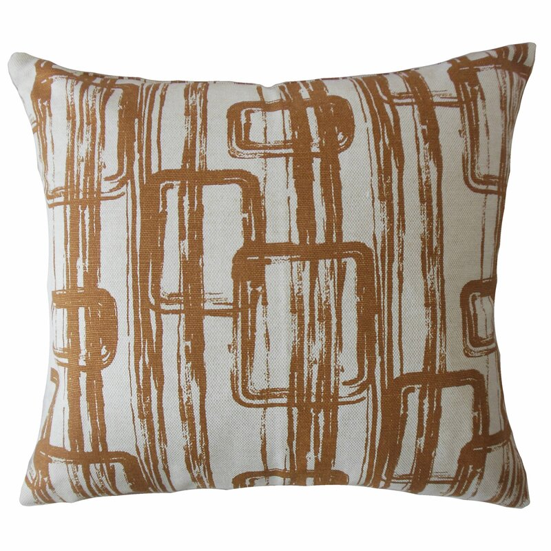 Brayden Studio Angelos Cotton Cushion Cover Wayfair Co Uk