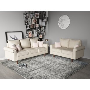 Postfield 2 Piece Living Room Set