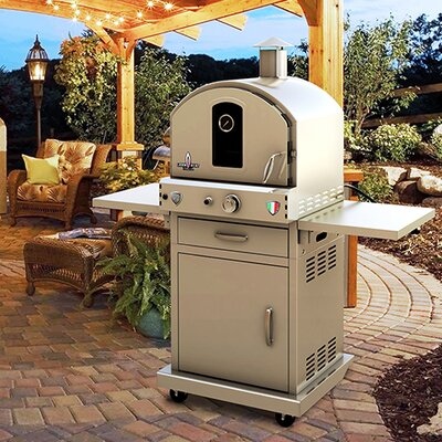 natural gas commercial outdoor pizza oven