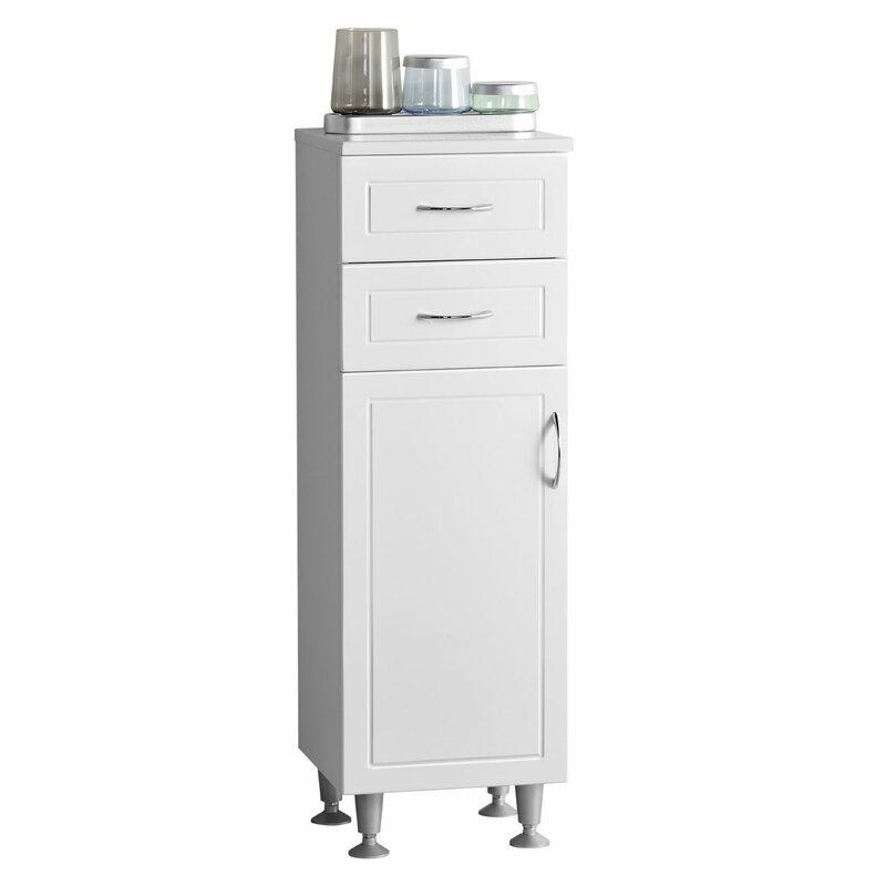 Aspo 33 x 102cm Free Standing Tall Bathroom Cabinet