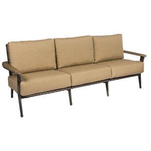 Draper Patio Sofa with Cushions by Woodard
