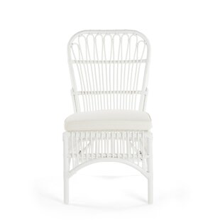 Deloris Rattan Side Chair (Set Of 2) by Bayou Breeze 2019 Sale