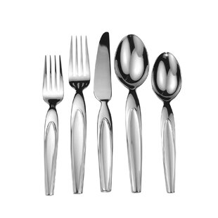 Splendide Concave 20 Piece Flatware Set, Service for 4