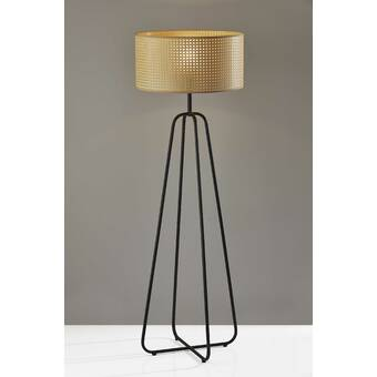 Latitude Run Herlong 57 Column Floor Lamp Wayfair