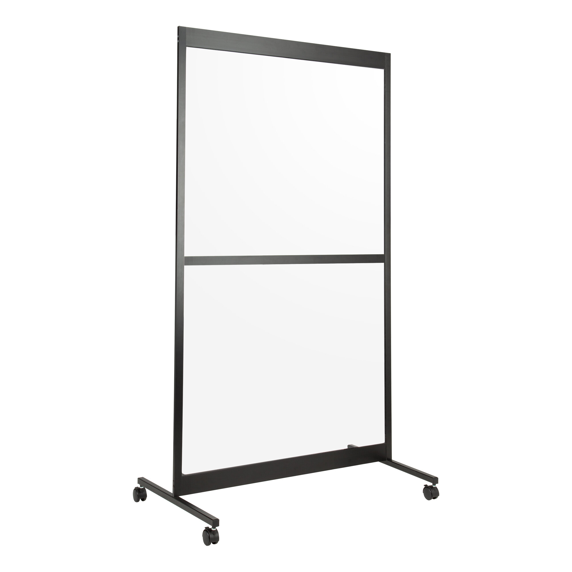 Norwood Commercial Furniture Portable Sneeze Guard 1 Panel Room Divider Wayfair