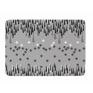 A Touch of Memphis by Zara Martina Manson Memory Foam Bath Mat