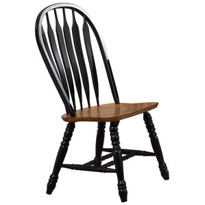Florentia Solid Wood Dining Chair (Set of 2) by Beachcrest Home