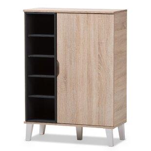 Jamar 24 Pair Shoe Storage Cabinet