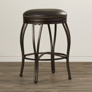 Capitol 25.5 Swivel Bar Stool Red Barrel Studio