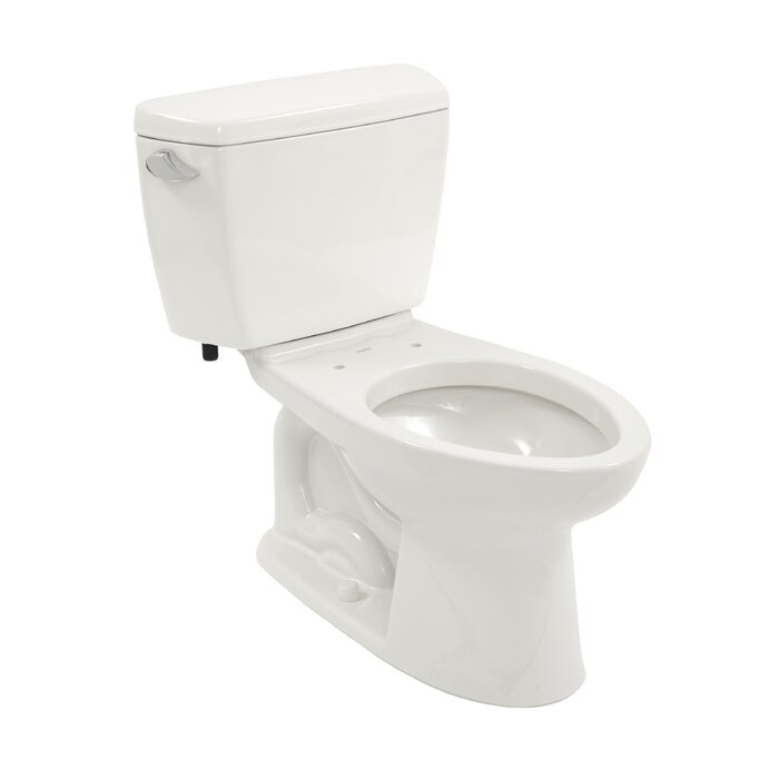 Incredible Drake Eco 1 28 Gpf Elongated Two Piece Toilet Seat Not Included Ocoug Best Dining Table And Chair Ideas Images Ocougorg