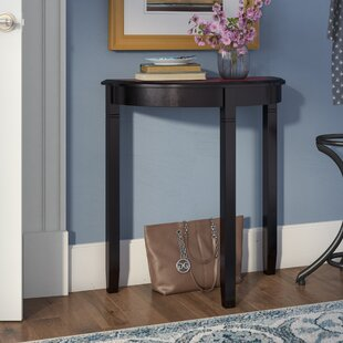 Comparison Hilbert Demilune Console Table By Andover Mills