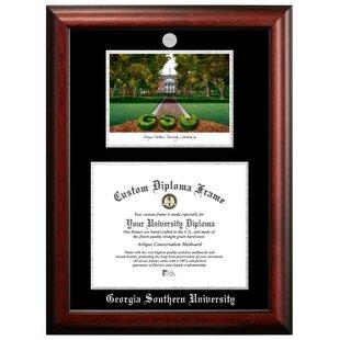 Georgia Southern University-Velour Picture Frame 4x6-Blue