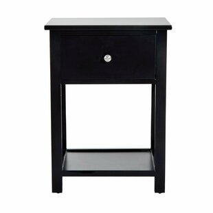 Dane End Table with Storage by Charlton Home
