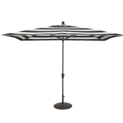 Wieczorek Auto Tilt 10 X 6.5 Square Market Umbrella by Breakwater Bay Best Design