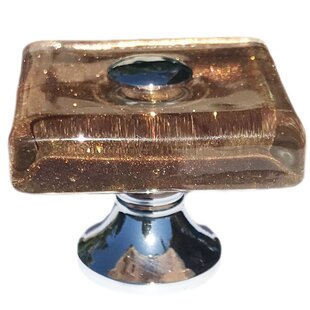 Sparkly Square Knob by Shabby Restore