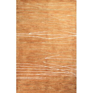 Reviews Ludlum Hand-Tufted Spice Area Rug By Brayden Studio