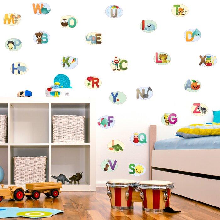 Nursery Alphabet Wall Decal