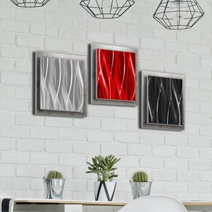 Silver Wall Accents Youll Love Wayfair
