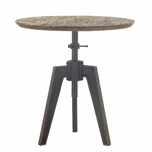 Naquin Round Adjustable Dining Table