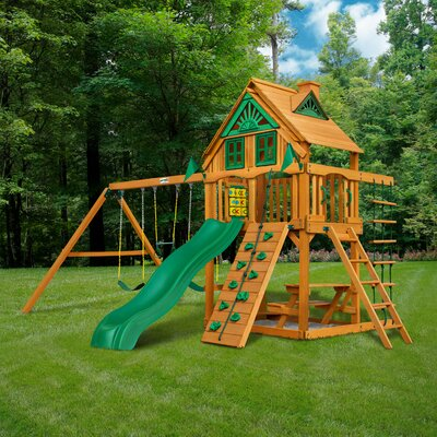Wooden Swing Sets - Up to 30% Off Through 8/18 | Wayfair