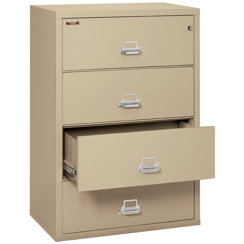 Fireking Fireproof 4 Drawer Vertical