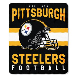 NFL Pittsburgh Steelers Printed Fleece Throw