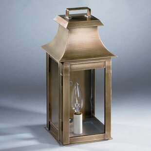 Find the perfect Concord 1-Light Outdoor Flush Mount By Northeast Lantern