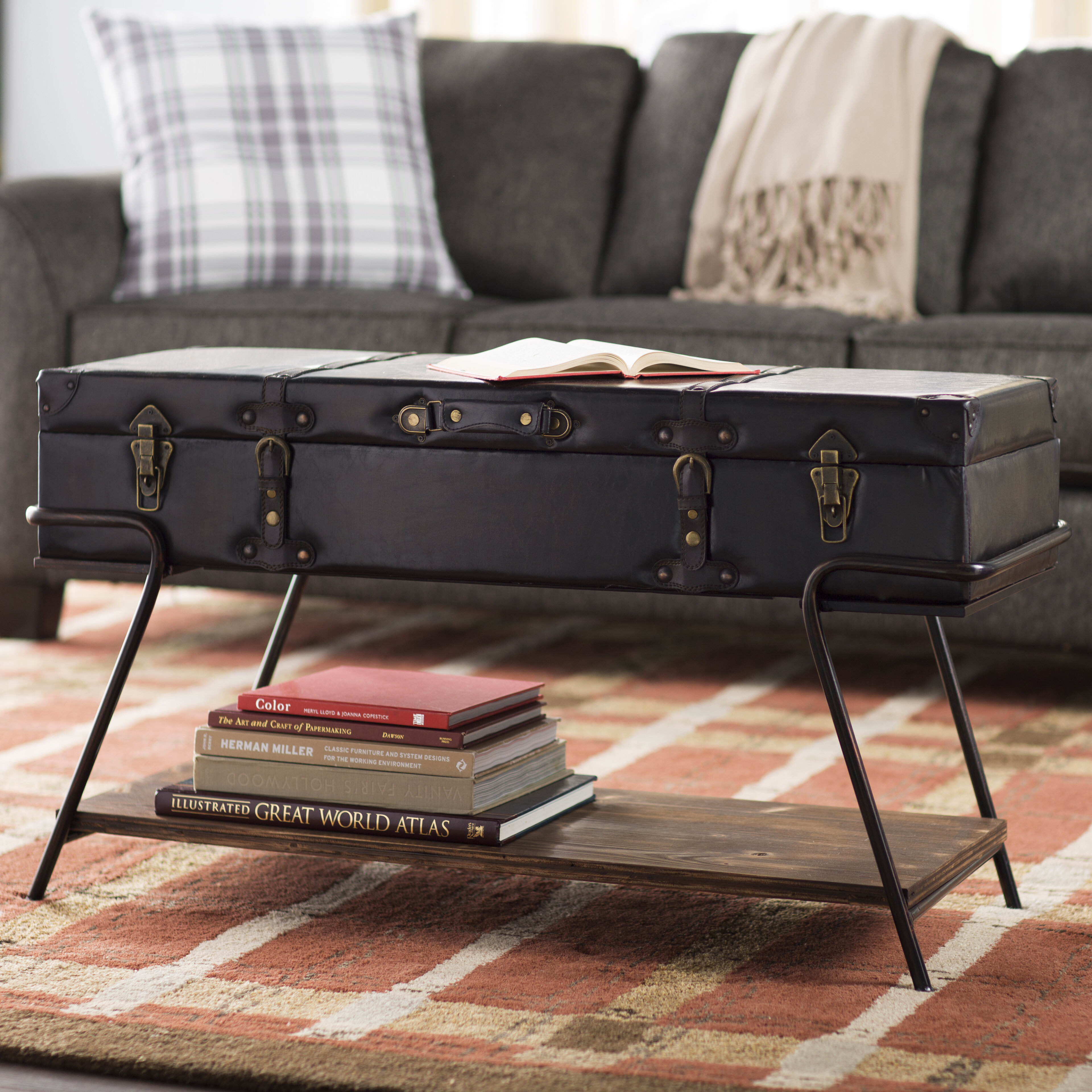 Trent Austin Design Cedarburg Coffee Table with Lift Top & Reviews