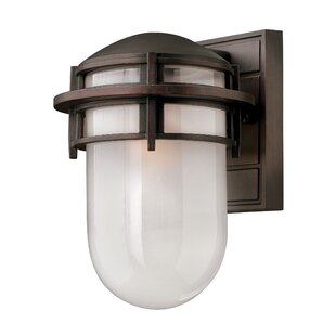 Best Reviews Warriner LED Outdoor Sconce By Breakwater Bay