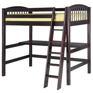 Rabon Twin Wood Loft Bed