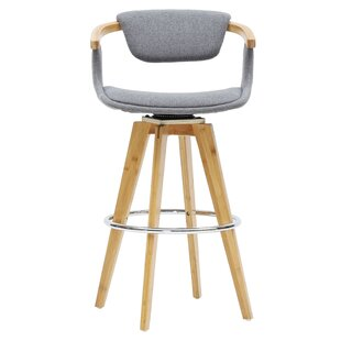 Castiglia 26 Swivel Bar Stool George Oliver