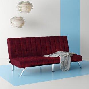 Crandon Velvet Convertible Sofa