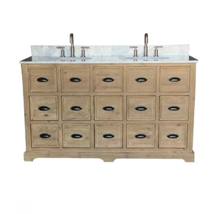 Chunn 60 Double Bathroom Vanity Set by Gracie Oaks