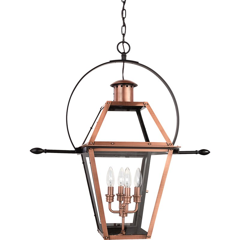 Bulb 29 5 H Outdoor Hanging Lantern