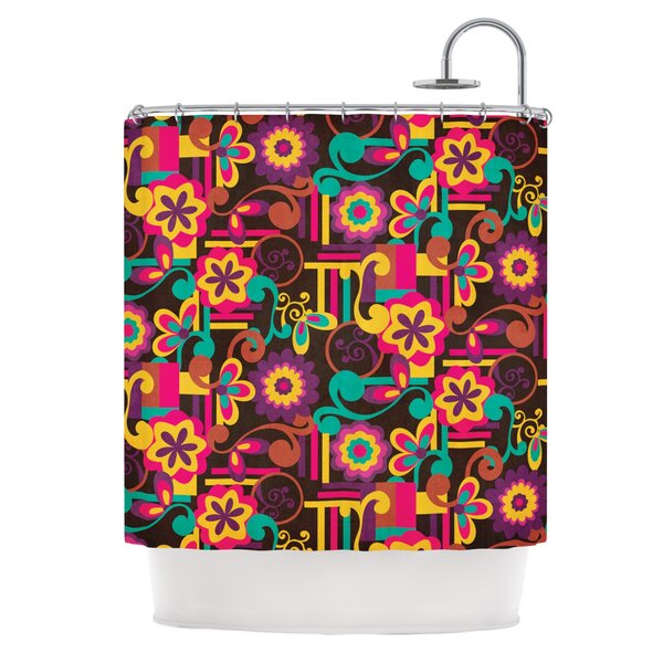 bright colored shower curtains wayfair - Colorful Shower Curtains