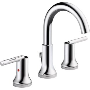 Modern Widespread Bathroom Sink Faucets | AllModern