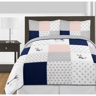 Fox Patch 3 Piece Full/Queen Comforter Set