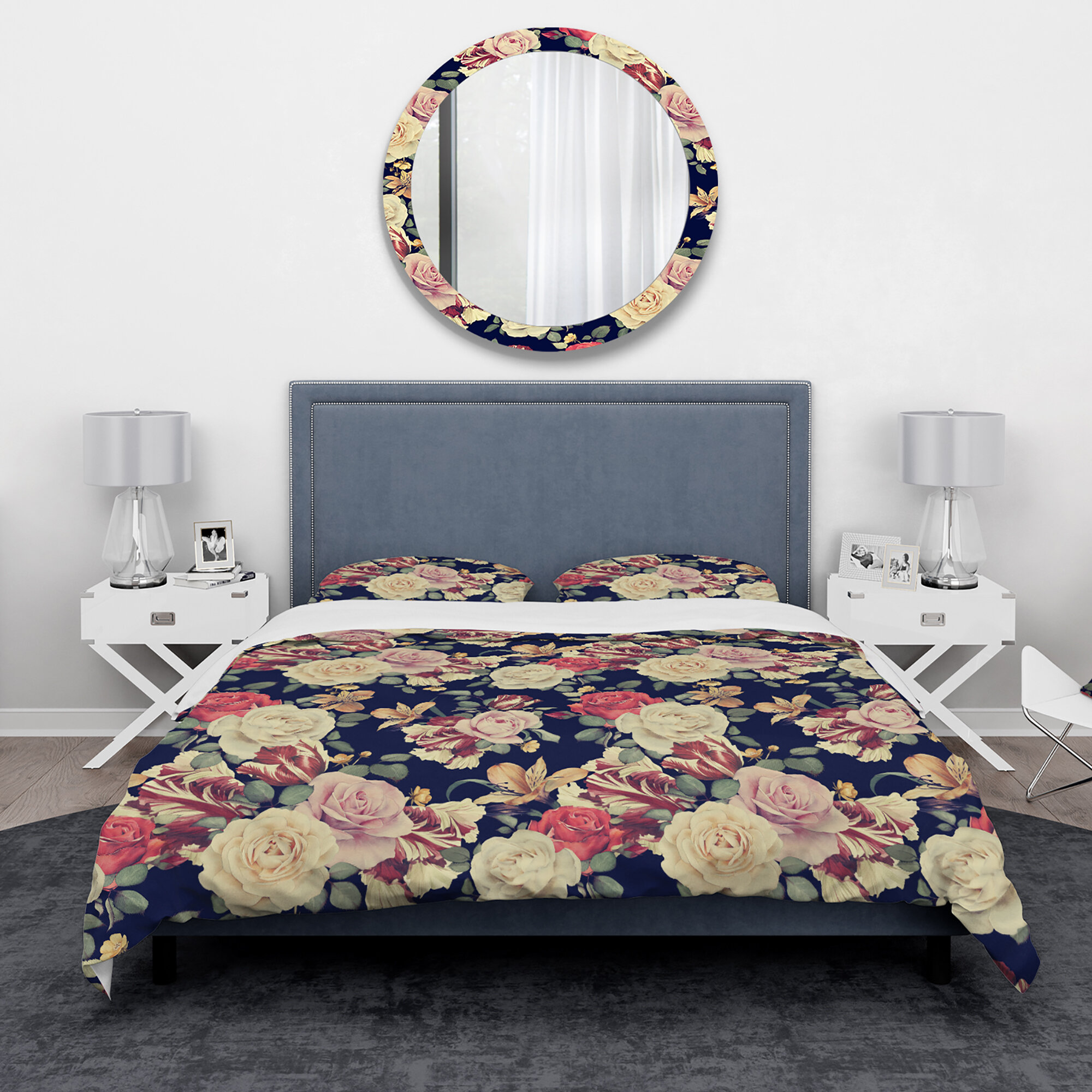 East Urban Home Bohemian And Eclectic Duvet Cover Set Wayfair Ca