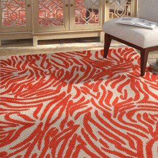 Look for Gerdes Red Indoor/Outdoor Area Rug Good price