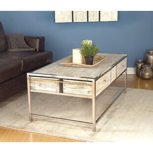 Amot Contemporary Coffee Table with Storage