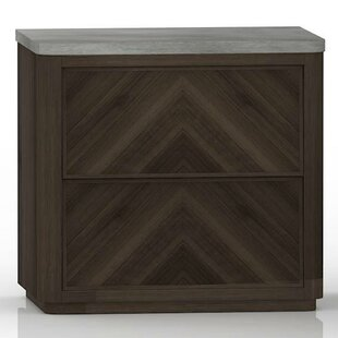 Bellinger 2 Drawers Nightstand