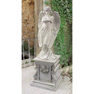 1882 Monteverde Angel Statue