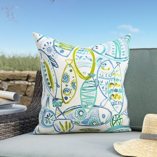 Bracken Guppy Outdoor Throw Pillow